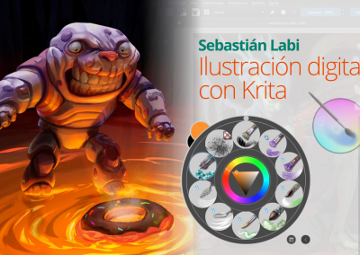 Ilustración digital con Krita